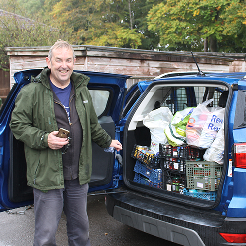 Harvest Donations to Calne Food Bank